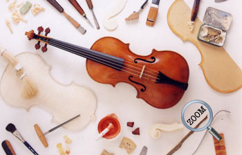 Chris Johnson - Violin maker